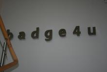 Litery 3D ze stali nierdzewnej